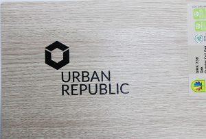 Argraffu logo ar ddeunyddiau pren gan WER-D4880UV 2