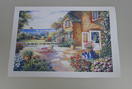 Canvas Olew wedi'i argraffu gan argraffydd toddyddion eco 2.5m (8 troedfedd) WER-ES2501 2