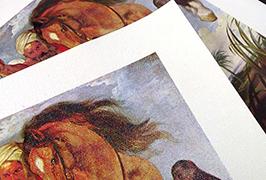 Canvas Olew wedi'i argraffu gan argraffydd toddyddion eco 2.5m (8 troedfedd) WER-ES2501