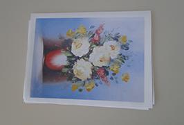 Canvas Olew wedi'i argraffu gan argraffydd toddyddion eco 2.5m (8 troedfedd) WER-ES2502