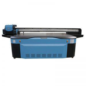 Fformat mawr peiriant argraffu gwydr fflat UV 2500X1300 WER-G2513UV