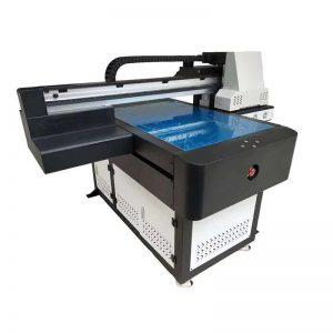 argraffydd UV fflat gwydr aml-gyfun aml-gyfunol o ansawdd uchel LED UV ricoh pen ar gyfer pren WER-ED6090UV